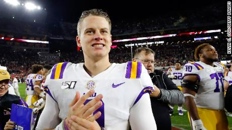Joe Burrow Wins Heisman