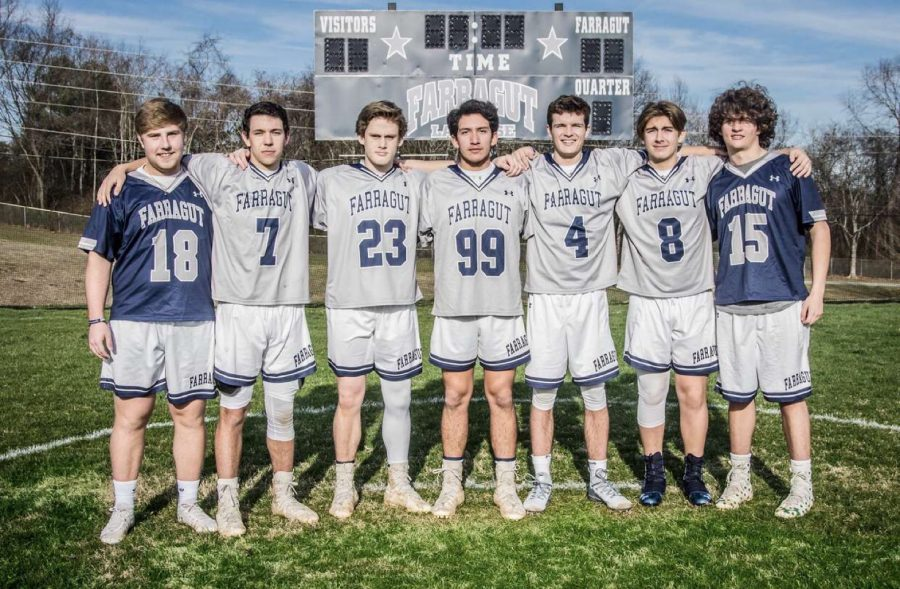 Boys Lacrosse Team Obliterates Opponent in First Game