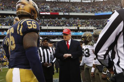 Trump updates service policy for the U.S. Service Academies