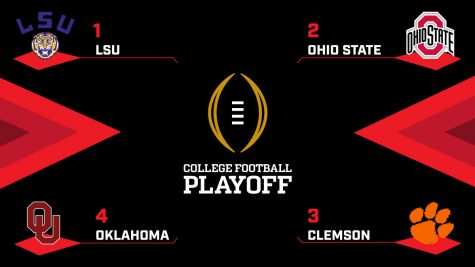 College Football Playoffs & New Year