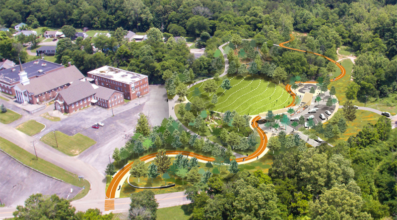 Knoxvilles New Urban Wilderness Gateway Park Project