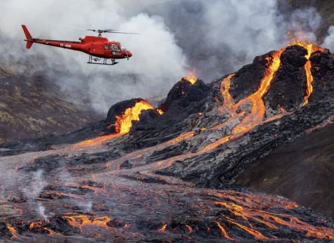 Dormant Volcano suddenly erupts. Image from Al Jazeera.